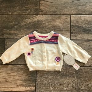 3 months baby girl sweater NWT